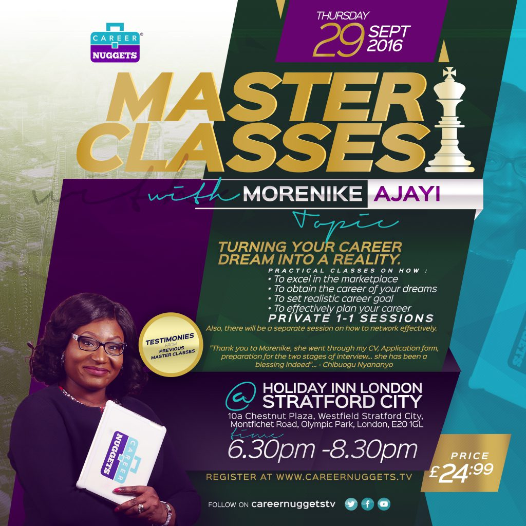 MasterClasess reality-Flyer