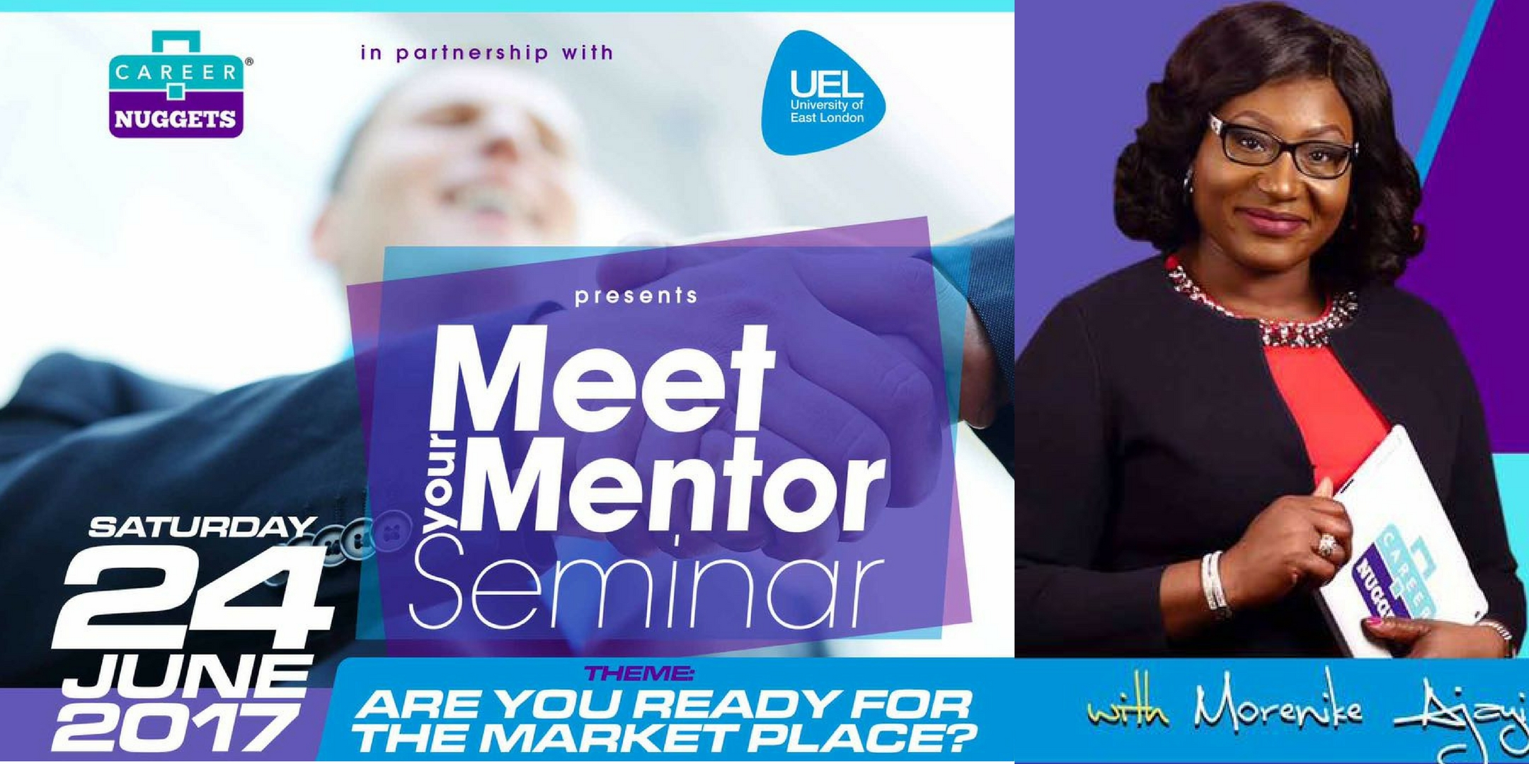 "Attend the ""MEET YOUR MENTOR"" Event"