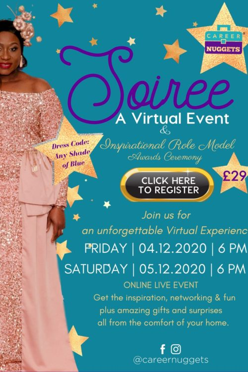 Career Nuggets Soiree <br>(Virtual Live Event)