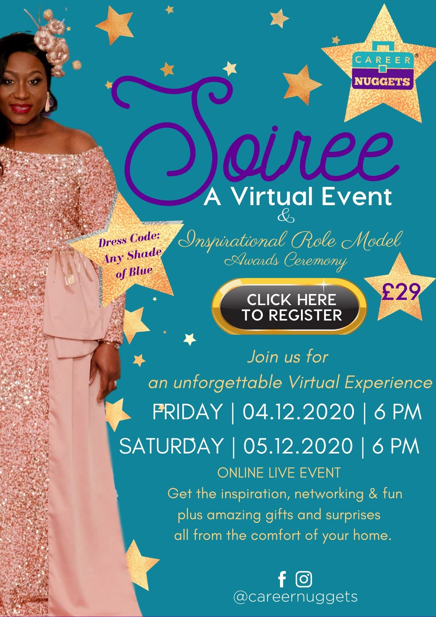 Career Nuggets Soiree (Virtual Live Event)